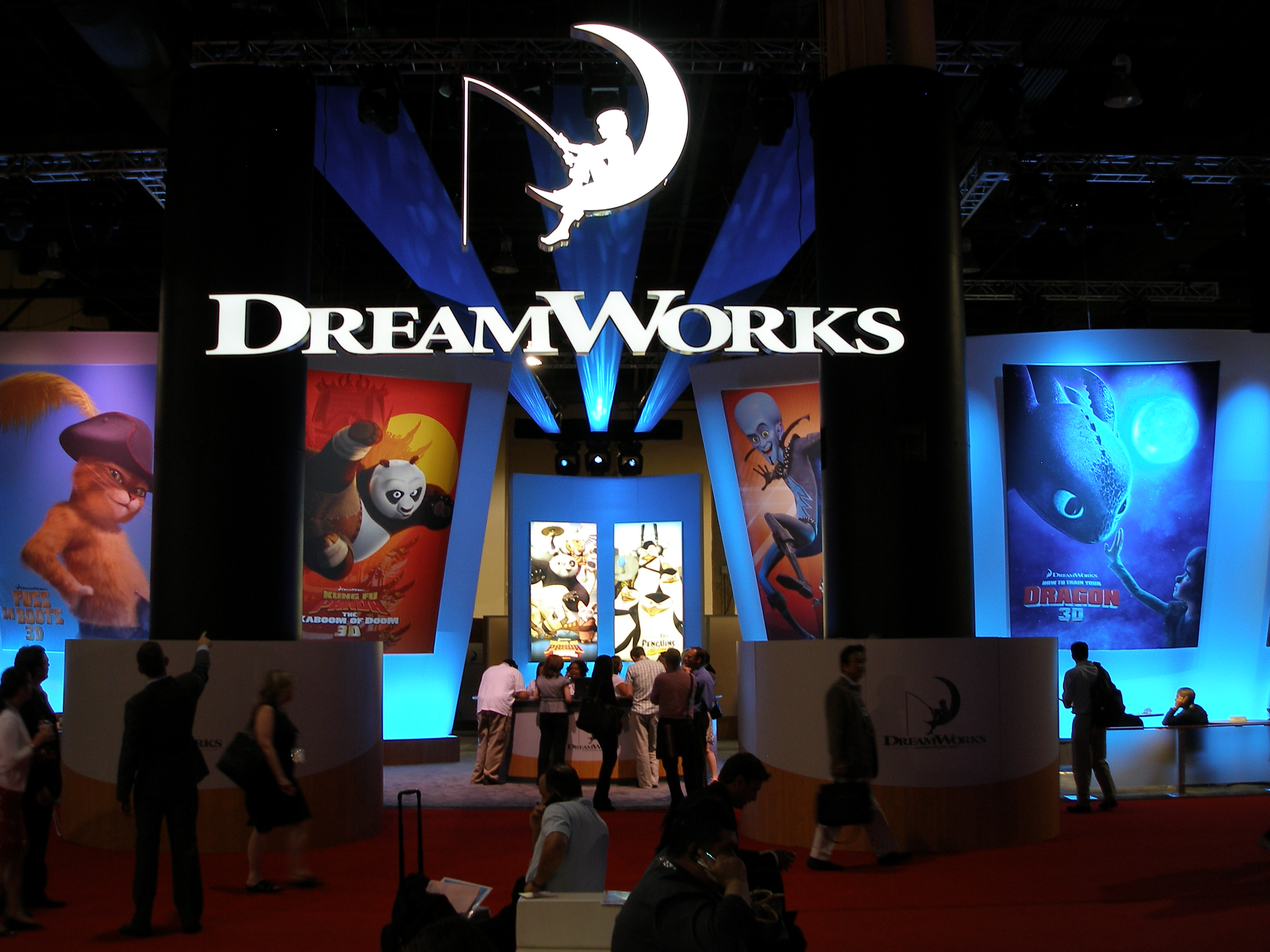 DreamWorks Trade Show Booth